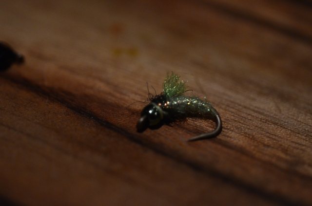 bead-headed nymph