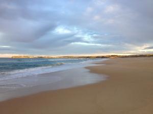 I love beach spinning